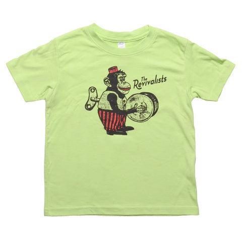 Monkey on Green Toddler Shirt