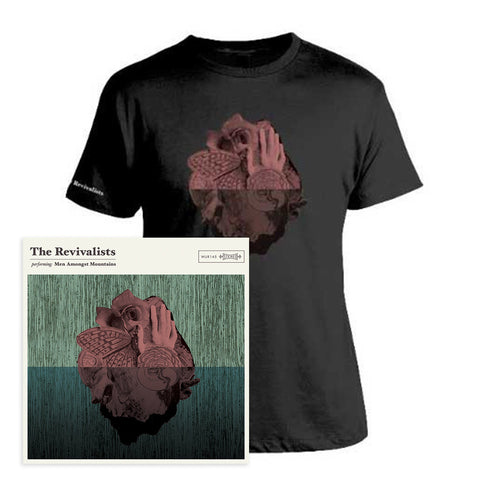 Vinyl Men Amongst Mountains and T-Shirt Bundle