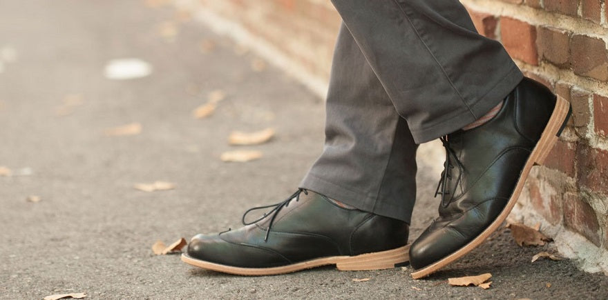 How to make men's dress shoes comfortable