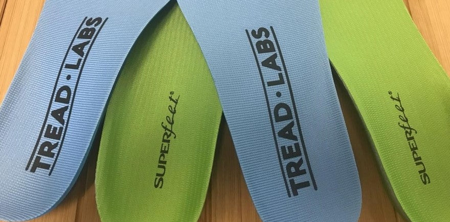 Superfeet GREEN vs. Tread Labs Pace