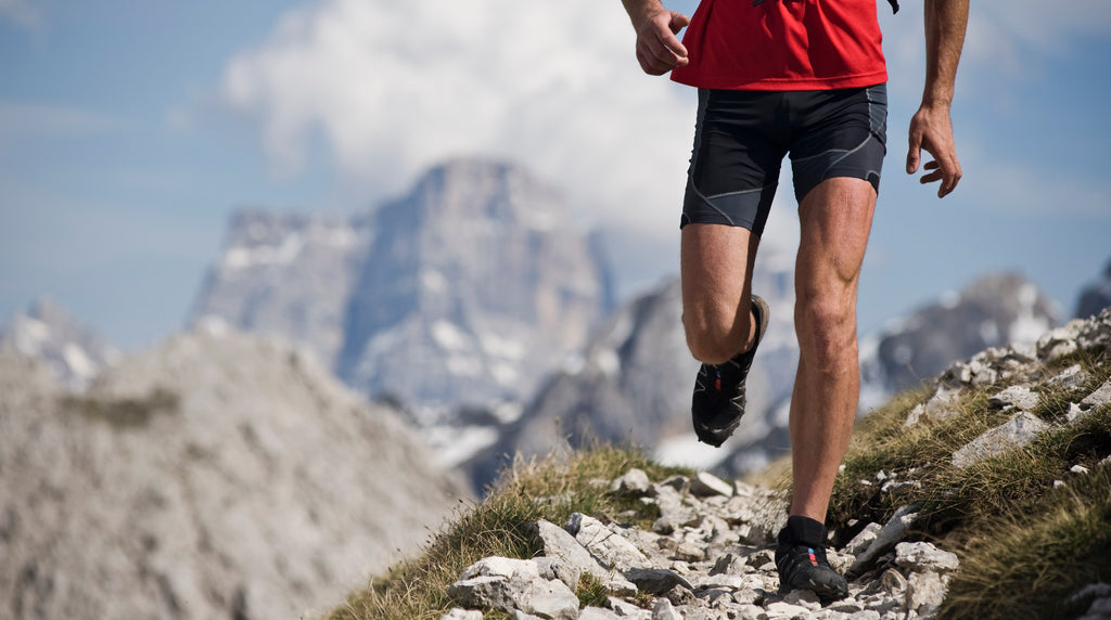 Running orthotics for efficient trail runs