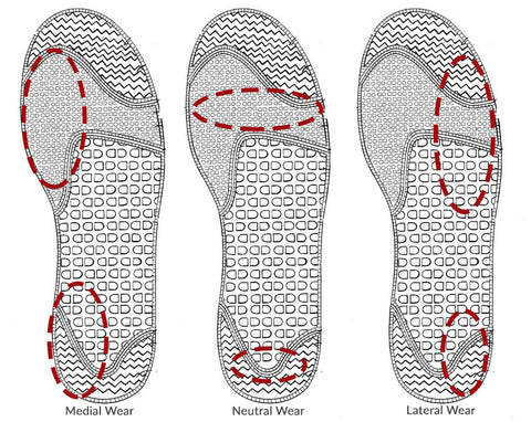 Running Shoe Sole Wear Patterns - What You Need To Know