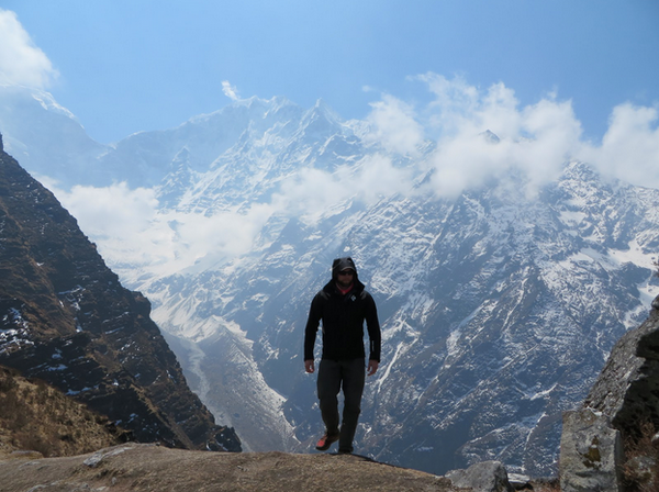 Mike Chambers interview - hiking in the Himalayas
