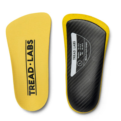 Dash Short Carbon Fiber Insoles From Tread Labs