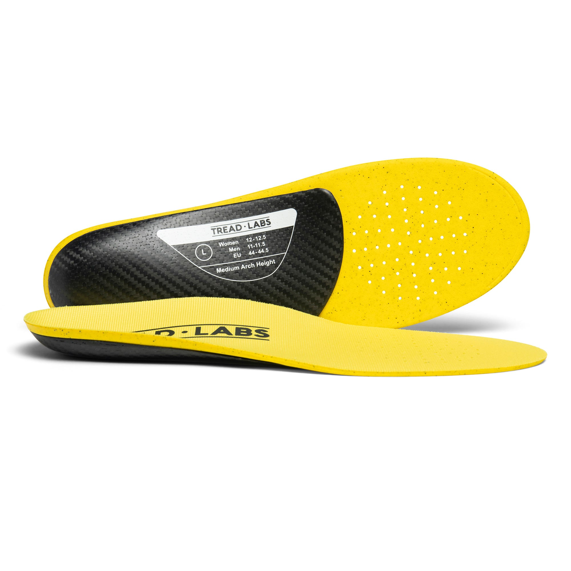 Dash Thin Carbon Fiber Performance Insole From Tread Labs
