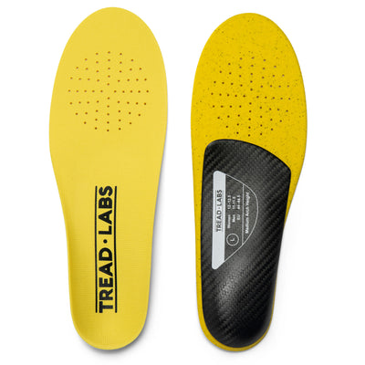 Dash Thin Insole With Carbon Fiber Arch Supports And Ventilated Top Covers