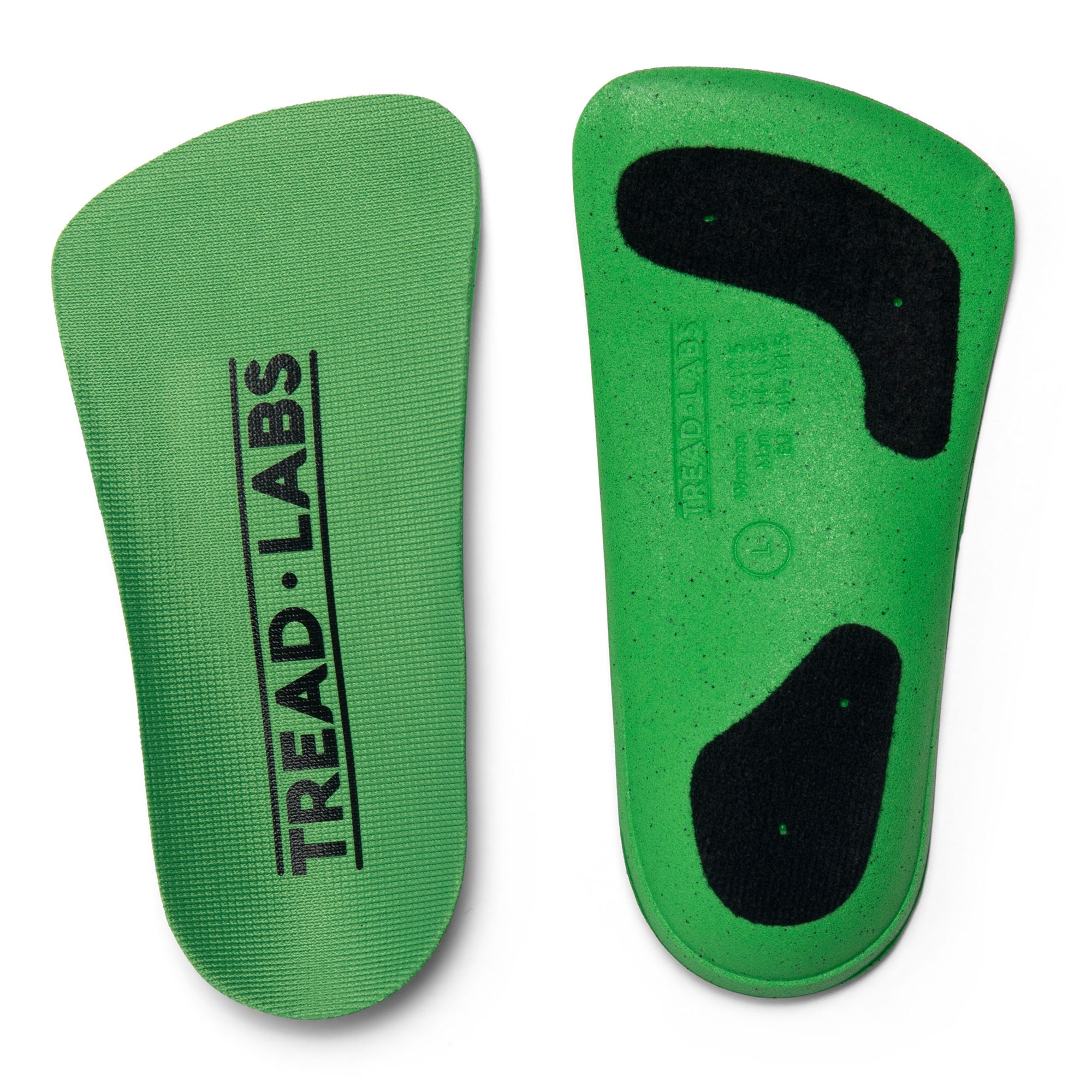 Ramble Short Comfort Insoles Replaceable Top Cover From Tread Labs