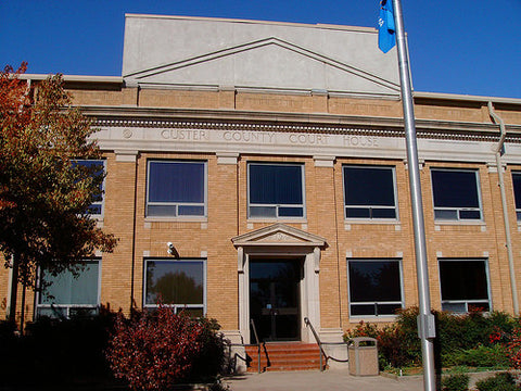 Custer County Process Of Service
