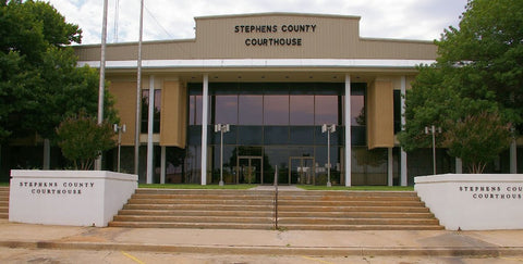 Stephens County Process Of Service
