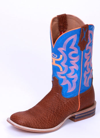Twisted X Men's Hooey Cognac Bull Hide Boot MHY0004 - Dusty Cowboy