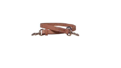 "3/4"" Leather Tie Down Strap - Dusty Cowboy"
