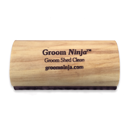 Groom Ninja Grooming Tool Comfortable Handle Size:Medium - Dusty Cowboy