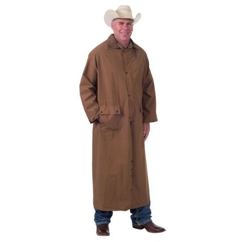 Deluxe Full Length Saddle Slicker - Dusty Cowboy