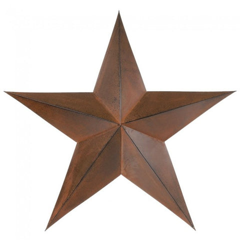 "Star 24"" Rust - Dusty Cowboy"