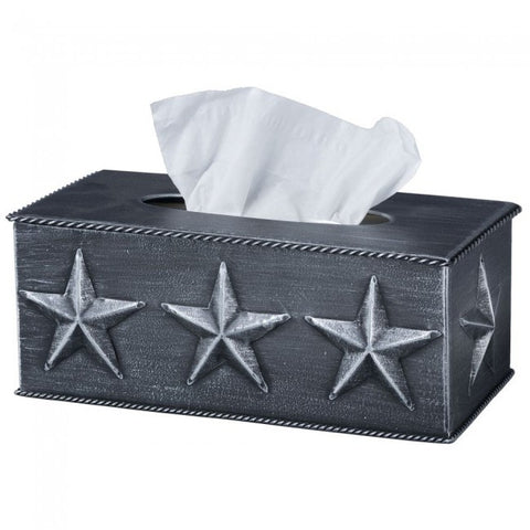 Star Tissue Box Cover - Dusty Cowboy