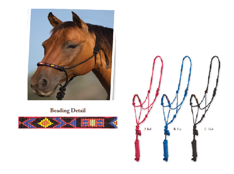 Beaded Nose Rope Halter