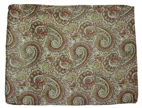 Paisley Silk Scarves - Dusty Cowboy