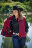 Women's Wyoming Traders Calamity Concealed Carry Vest - Dusty Cowboy