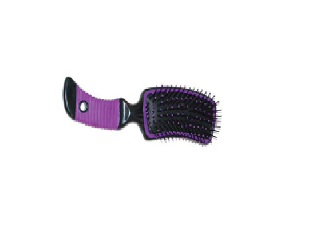 Brush Grooming  w/ Grip Handle - Dusty Cowboy