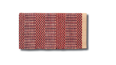 Double woven Navajo style saddle blanket. - Dusty Cowboy