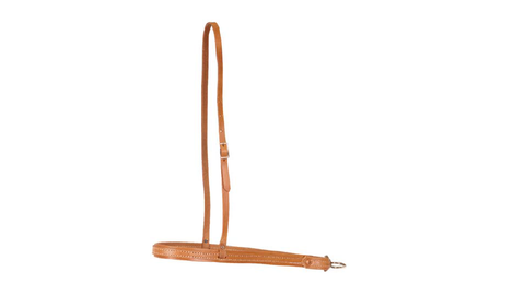 Flat Leather Noseband - Dusty Cowboy