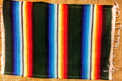 "SERAPE PLACEMATS 13"" X 19"" - Dusty Cowboy"