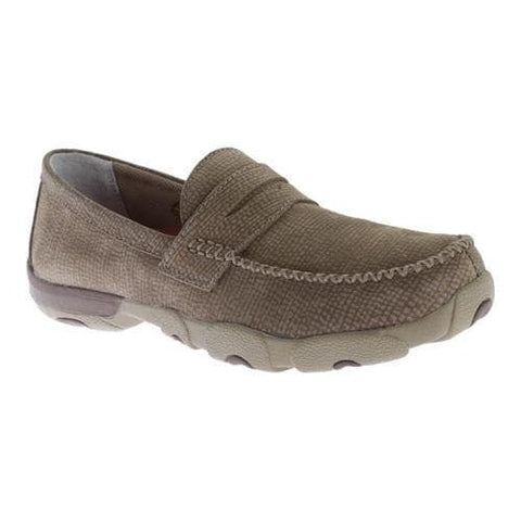Driving Moc Slip On Dusty Grey - Dusty Cowboy