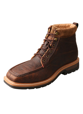 Twisted X Boots MLCALW1 Lite Work Lacer Safety Alloy Toe Boot - Dusty Cowboy