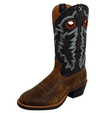Twisted X Men's Ruff Western Boots - Dusty Cowboy