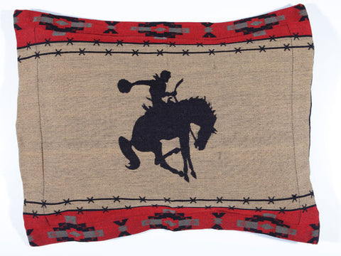 Western Pillow Shams - Dusty Cowboy