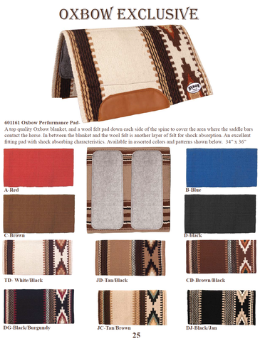 Oxbow Performance Pad - Dusty Cowboy