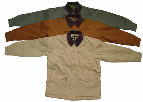 Wyoming Traders Canvas Fleece Lined Ranch Coat - Dusty Cowboy