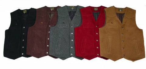 Wyoming Traders Wool Vest-Tall - Dusty Cowboy