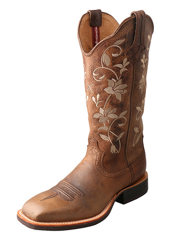 Twisted X Women's Floral Embroidered Western Boots WRS0025 - Dusty Cowboy