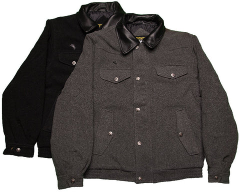 Wool Bomber Jacket Wyoming Trader
