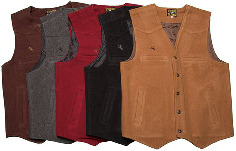 Wyoming Wool Vest (Original Wool Vest) - Dusty Cowboy