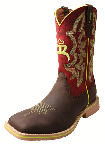 Twisted X Kid's Hooey Boot – Crazy Horse/Red - Dusty Cowboy