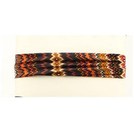 Brown Aztec Headband - Dusty Cowboy