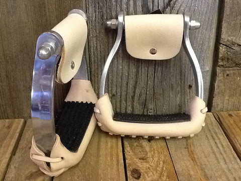 Aluminum Barrel Stirrup - Dusty Cowboy