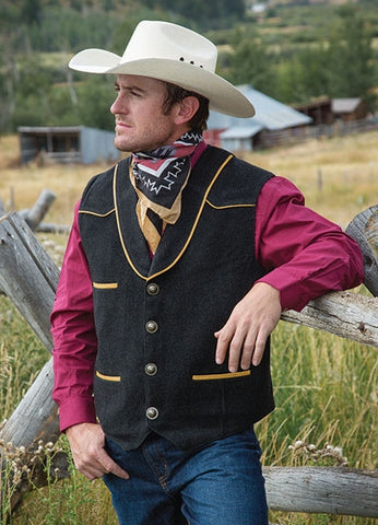 Marshall Vest Wyoming Traders - Dusty Cowboy