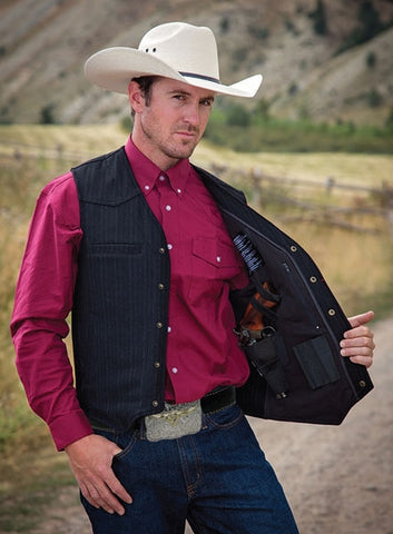Ranger Concealed Carry Vest - Dusty Cowboy