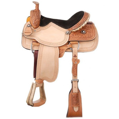 Grandview Roper Saddle Package - Dusty Cowboy