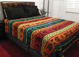 "QUEEN SIZE 88"" x 96"" Bedspread - Dusty Cowboy"