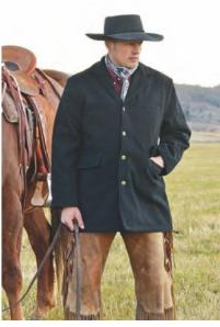 Wool Frock Coat - Dusty Cowboy