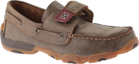 Twisted X Boots YDM0022 Cowkid's Driving Moc - Dusty Cowboy