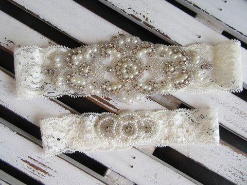 Bridal Garter Style: Beloved (Set)