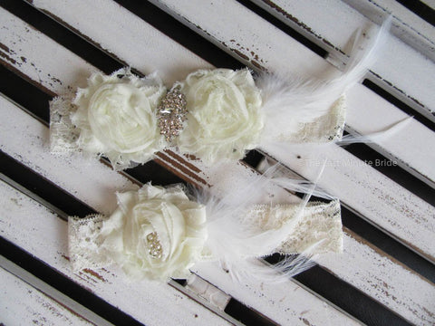 Bridal Garter Style: Flirty (Set)