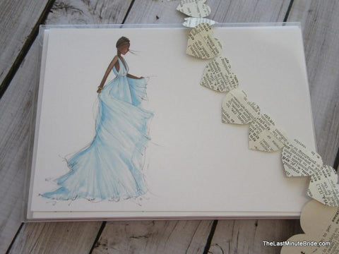 "Bride Notecard ""Tammy"" - Boxed Set"