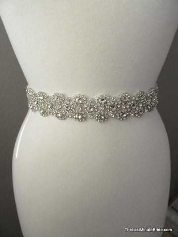 Crystal & Rhinestone Beaded Belt Style: Hawaii