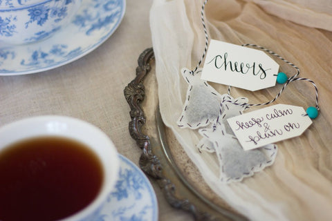 Wedding Dress Tea Bags